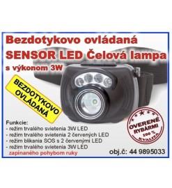 Čelová lampa ZEBCO Sensor...