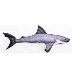 Plyšová ryba ŽRALOK BIELY...