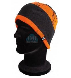 Čiapka FOX Beanie Black/Orange