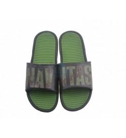 Šľapky NAVITAS Slider Green