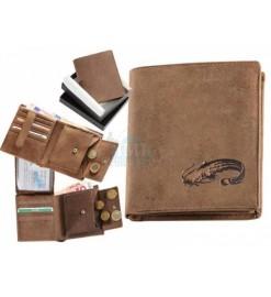 Peňaženka kožená - Sumec...