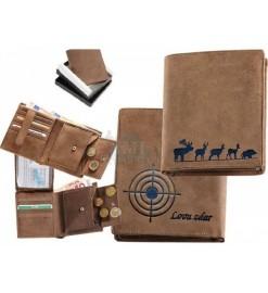 Peňaženka kožená - Lovu...