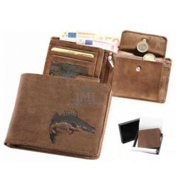 Peňaženka kožená - Zubáč 01